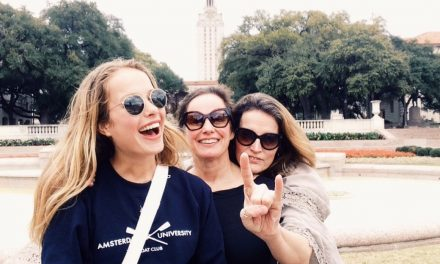 Grenzen verleggen in Austin: Hook 'Em Horns!