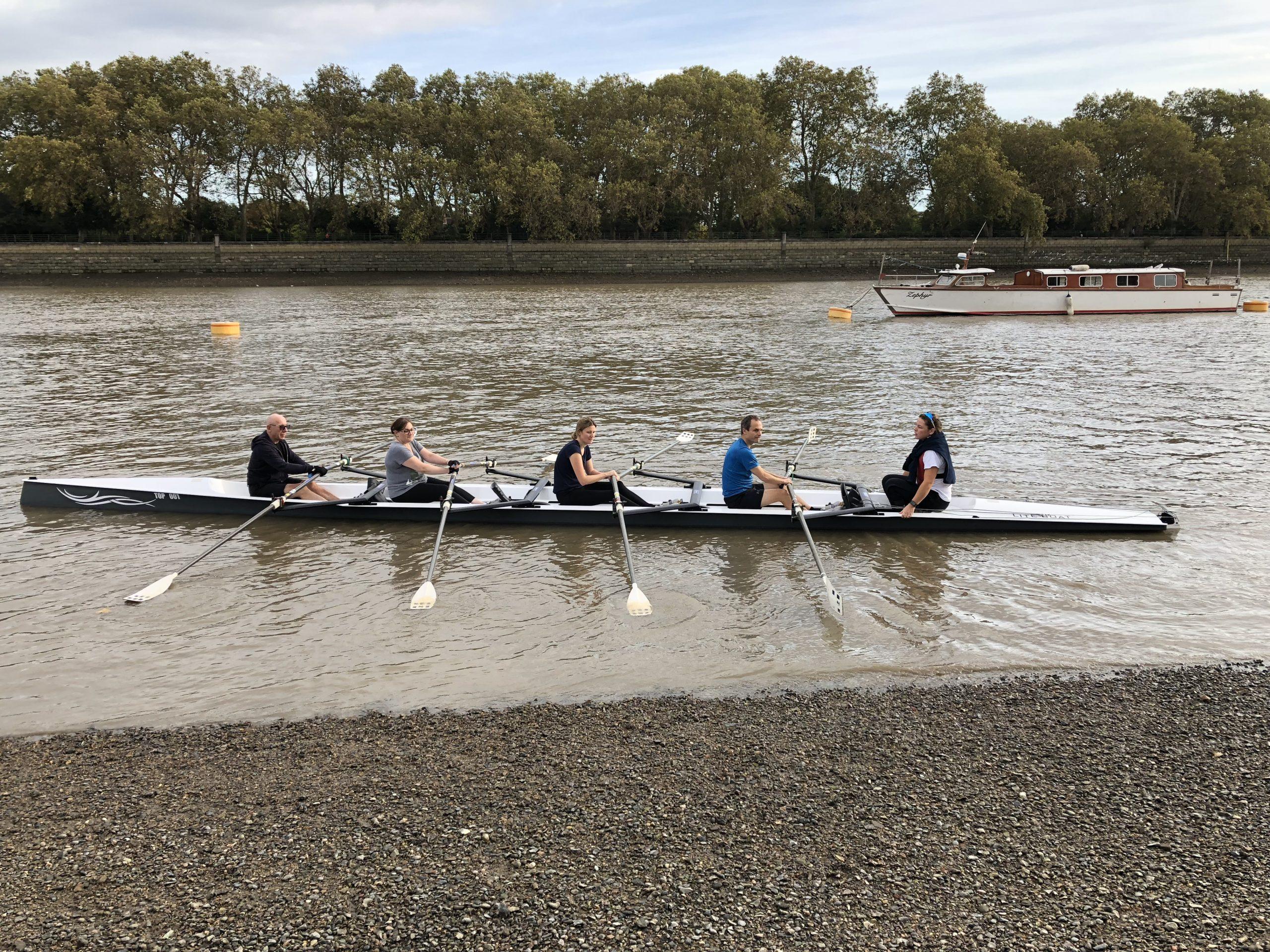 rowing london