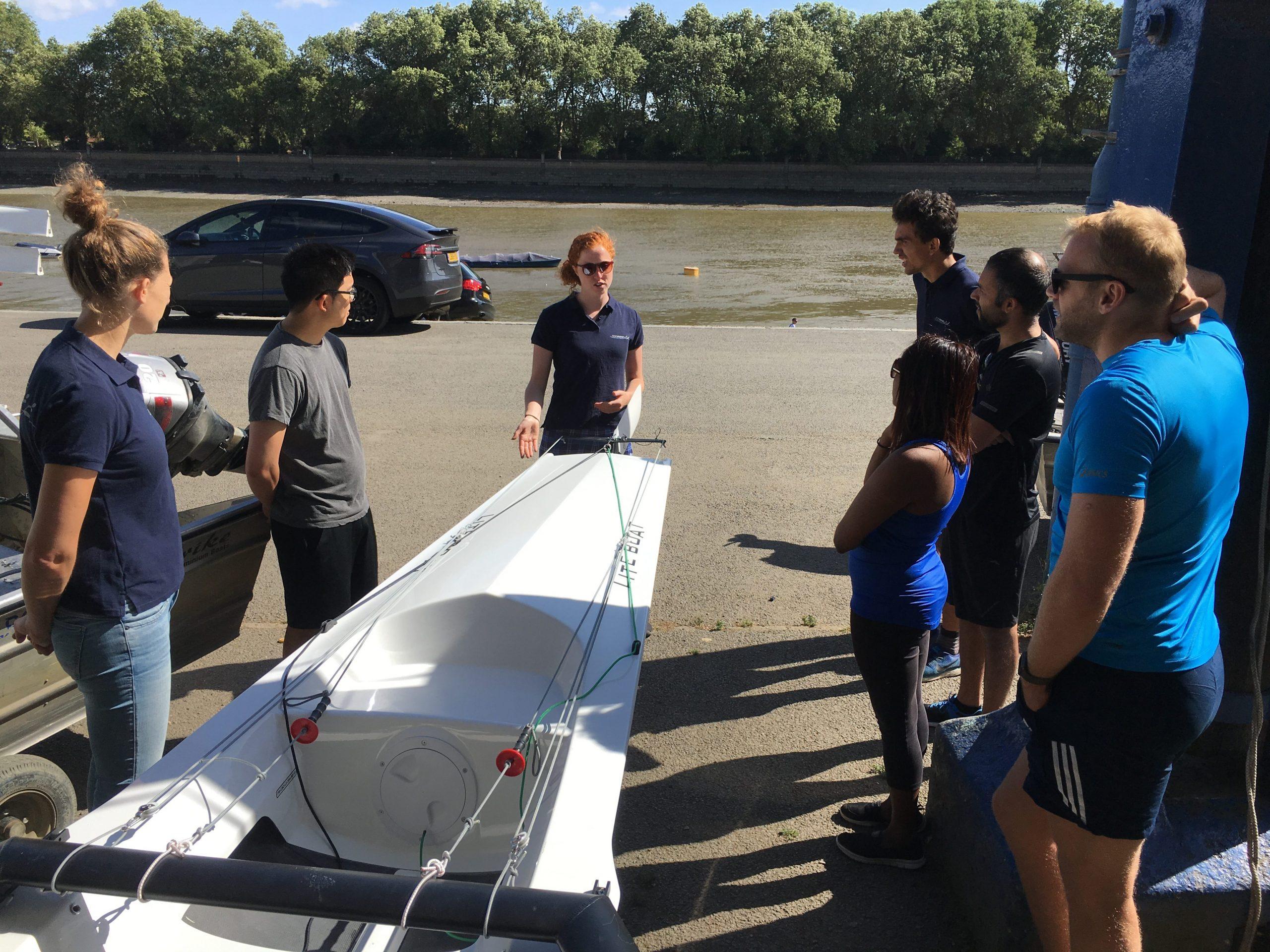 Rowing coaching at TopRow London: 'We were pioneers'